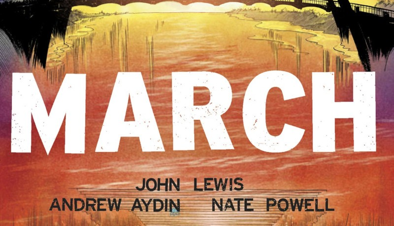 Black Comics Matter: March e la storia di John Lewis