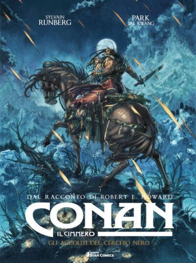 cover CONAN IL CIMMERO vol. 9 – GLI ACCOLITI DEL CERCHIO NERO (star comics, 2021)