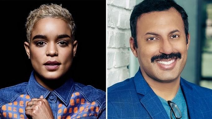 Peacemaker: Elizabeth Faith Ludlow e Rizwan Manji nel cast della serie HBO Max