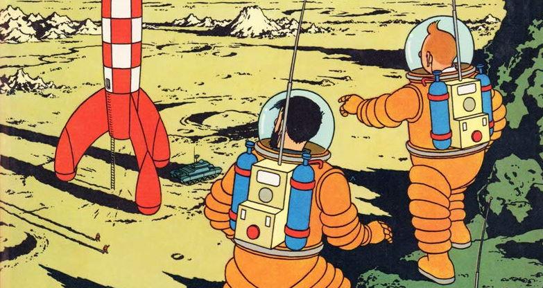 Hergé – Tintin sulla Luna