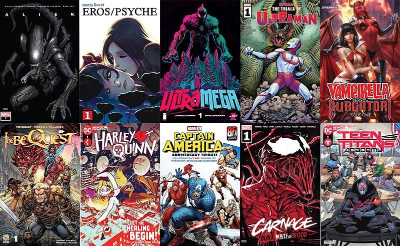 First Issue #81: mostri alieni, vampire e figure mitologiche