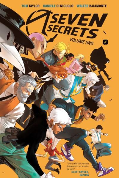SEVEN SECRETS 1 front
