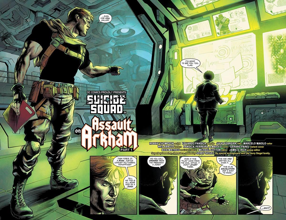 Suicide Squad (2021-) 001-003