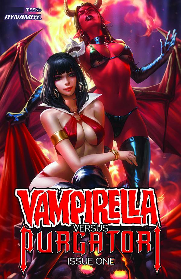 Vampirella vs Purgatory 1