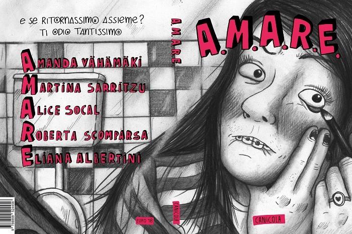 """Anteprima """"A.M.A.R.E."""" AA.VV. (Canicola Edizioni)"""
