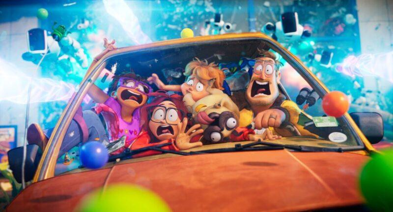 Su Netflix il film d'animazione I Mitchell contro le macchine