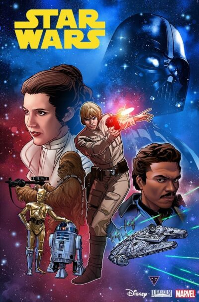 star wars 1 copertina