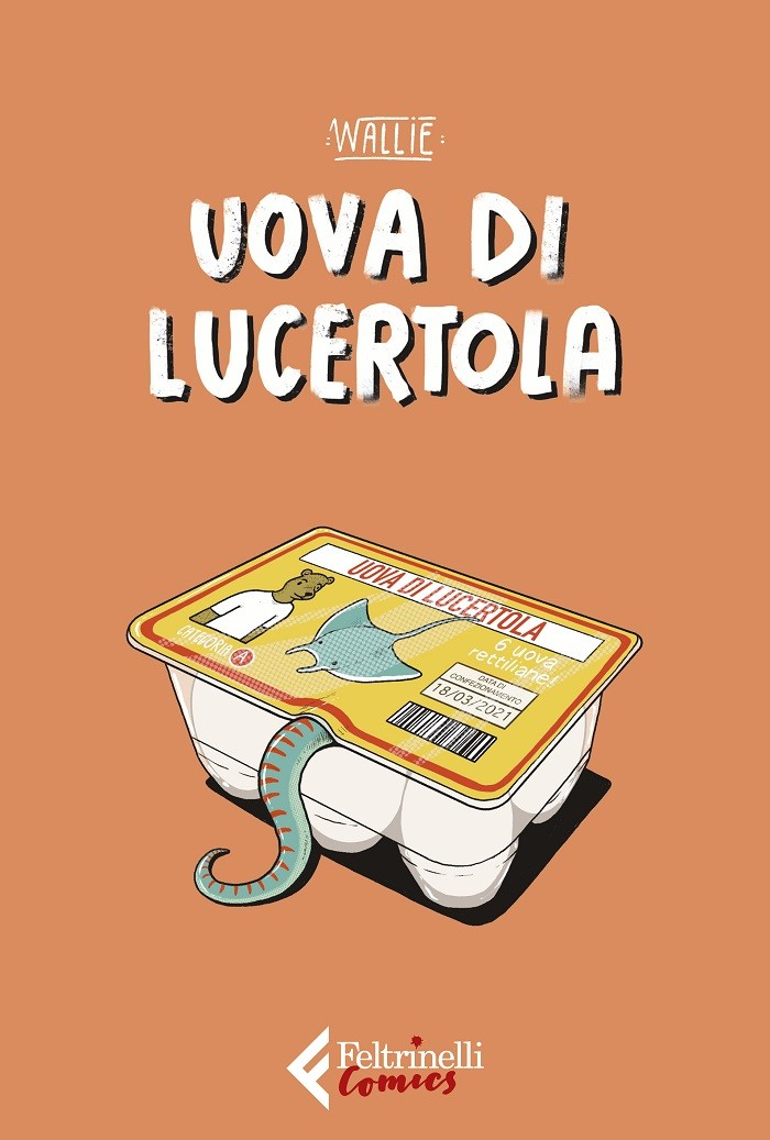 """Uova di lucertola"" è il nuovo graphic novel di Wallie"
