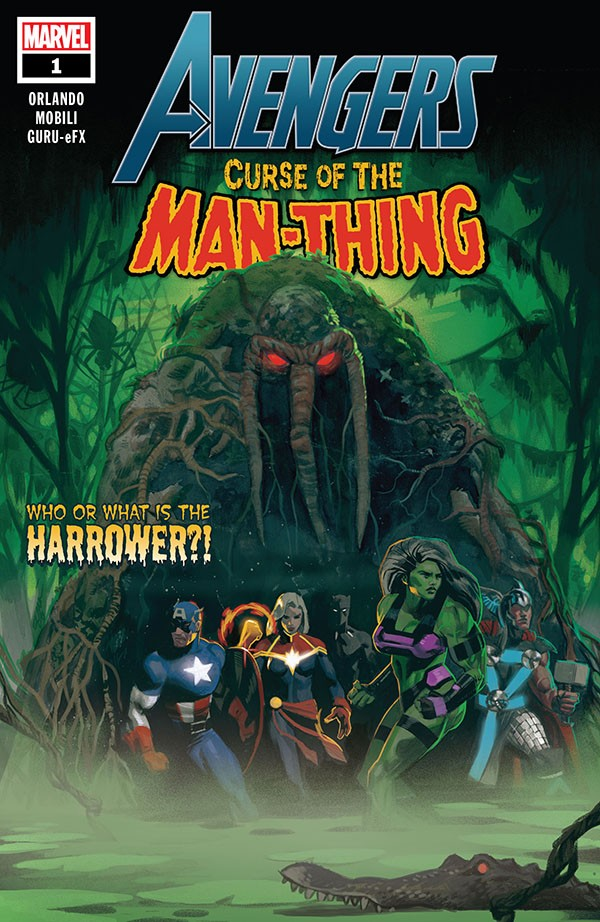 Avengers - Curse Of The Man-Thing 1