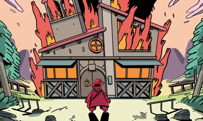 Fumetti saldaPress: esce Fabula