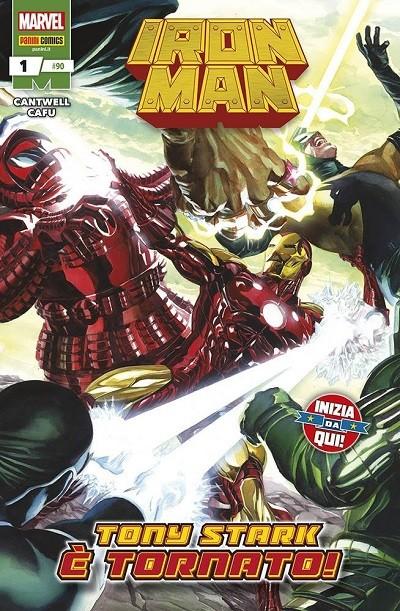 Iron Man-copertina 1