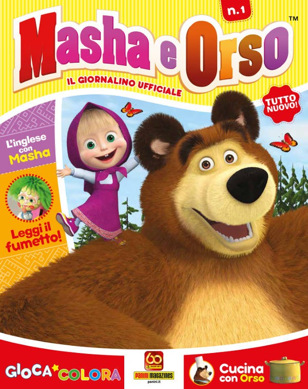 Masha e Orso - Il giornalino ufficiale x news