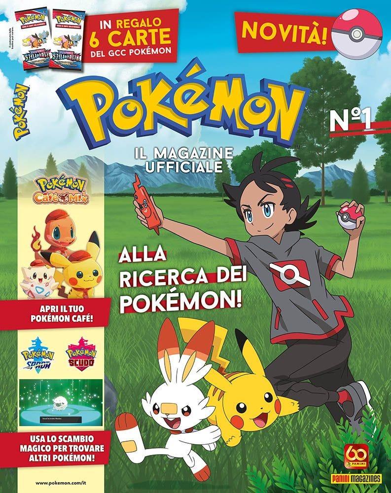 È uscito Pokémon – Il Magazine Ufficiale da Panini Comics