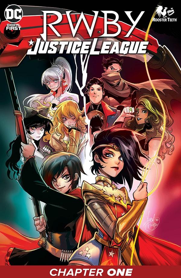 RWBY-Justice League 1