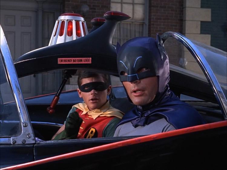 Batman: la serie tv anni '60 torna su Rai 4