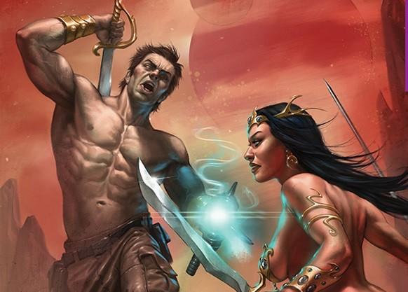 Dynamite annuncia Dejah Thoris vs. John Carter