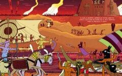 La storia degli dèi egizi a fumetti: il Pantheon di Hamish Steele