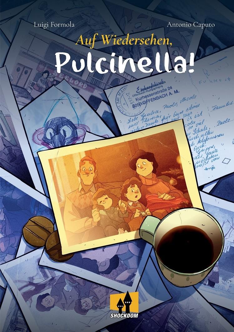 """Shockdom pubblica la graphic novel """"Auf Wiedersehen, Pulcinella!"""""""