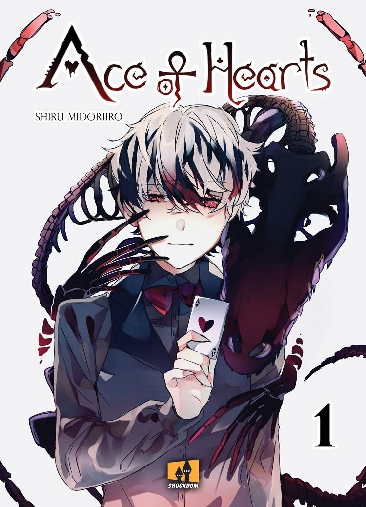 """Shockdom pubblica il primo volume di """"Ace Of Hearts"""" di Shiru Midoriiro."""