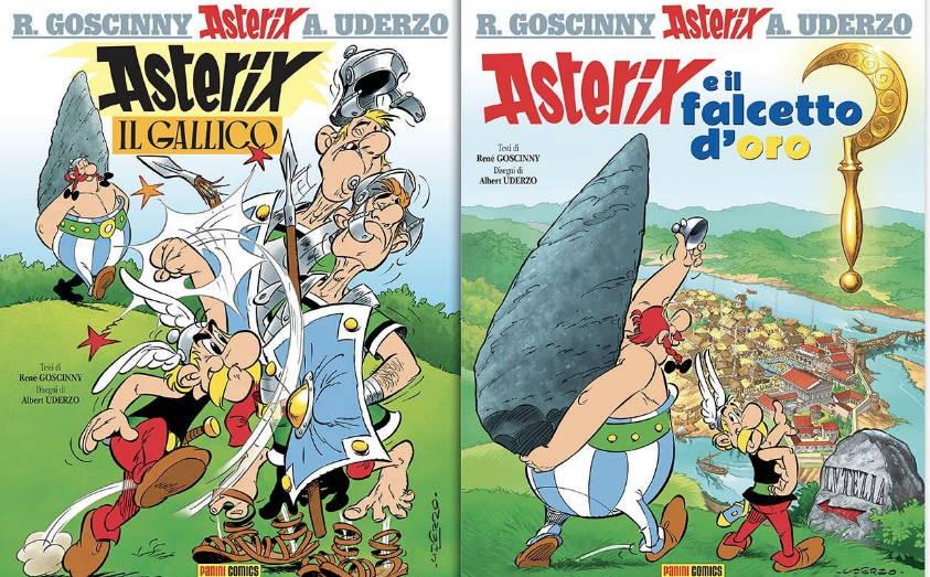 La collezione completa delle avventure di Asterix per la prima volta in edicola