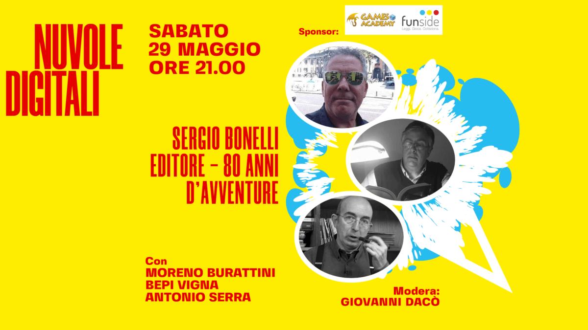Moreno Burattini, Bepi Vigna, Antonio Serra