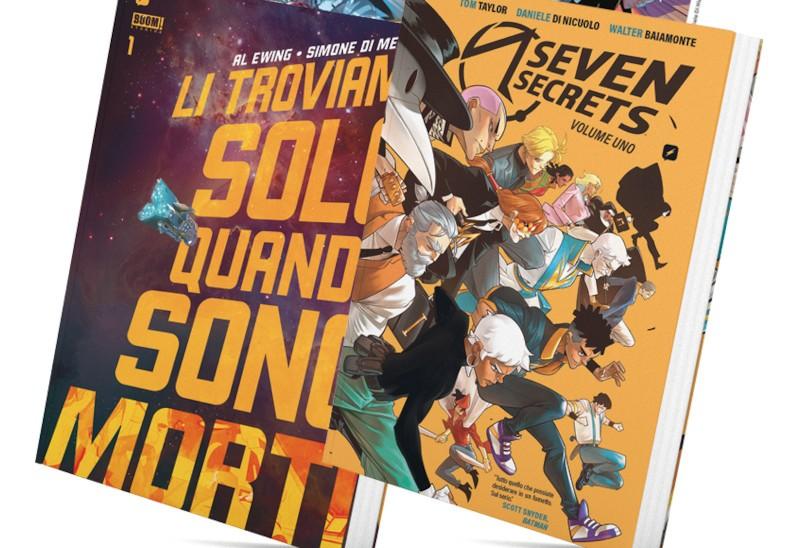 BOOM!Bastic Bundle: Edizioni BD pubblica Seven Secrets e Li Troviamo Solo Quando Sono Morti