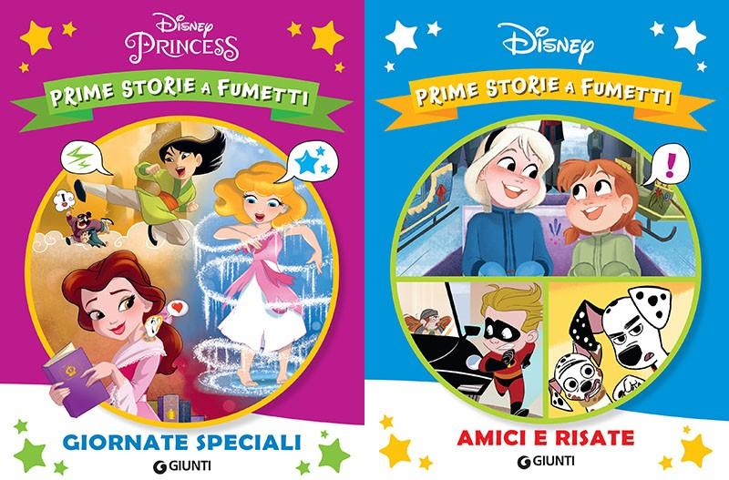 Giunti presenta la collana Prime storie a fumetti Disney