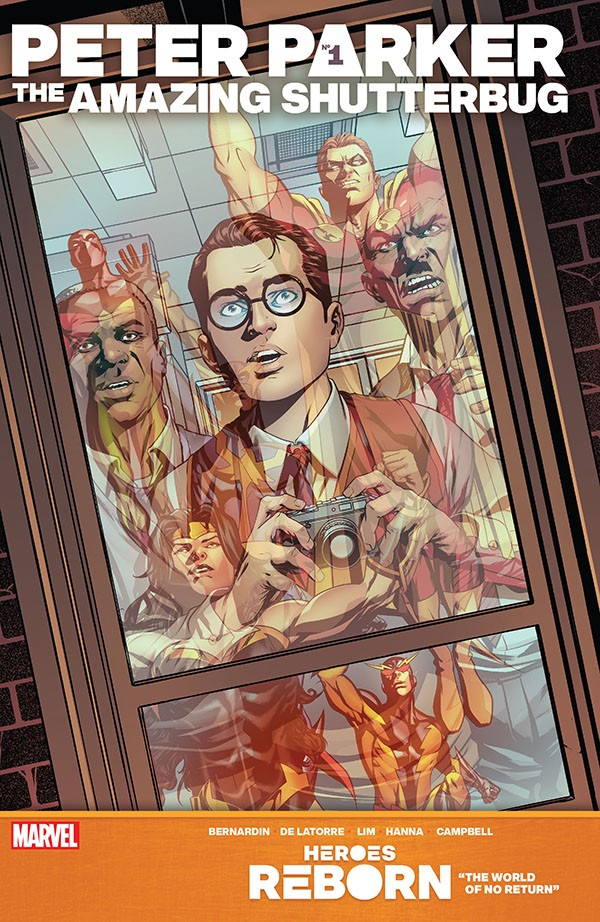 Heroes Reborn - Peter Parker, The Amazing Shutterbug 1