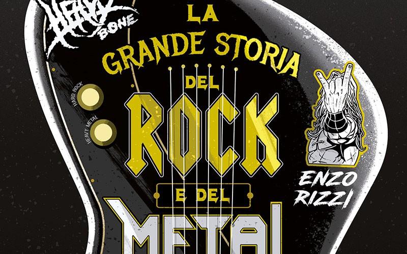 """Arriva l'omnibus de """"La grande storia del rock e del metal a fumetti"""""""