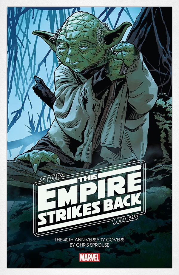 Star Wars - The Empire Strikes Back - The 40th Anniversary Covers
