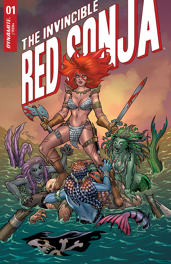 The Invincible Red Sonja 1