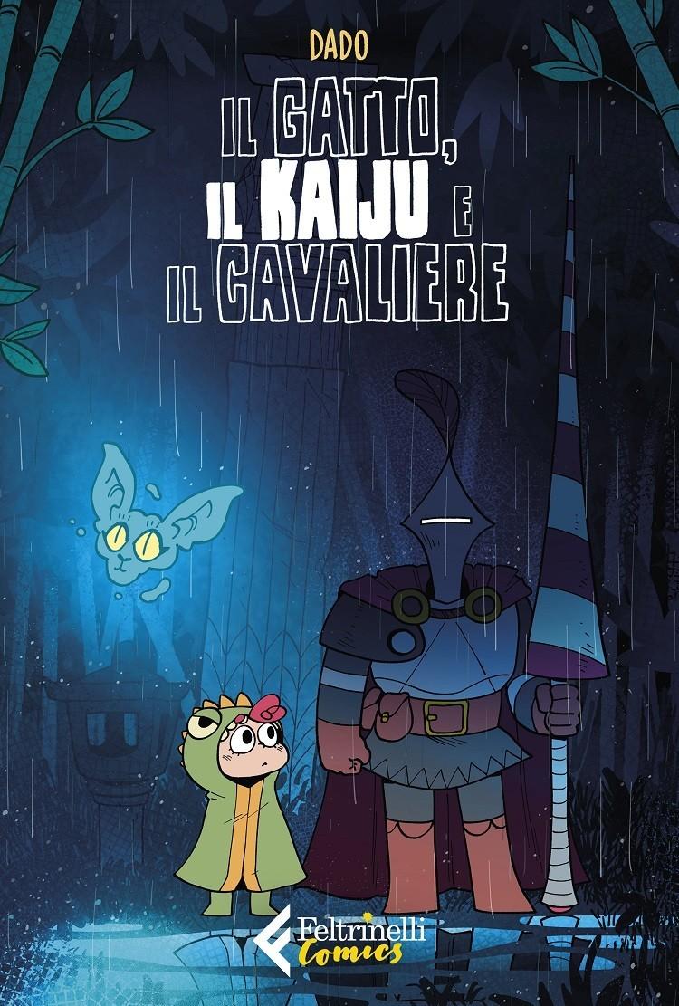cover_Dado_Il gatto, il kaiju e il cavaliere_COMICS