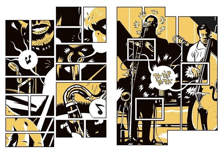 Mingus: in arrivo la biografia a fumetti di un gigante del Jazz, di Squaz e Flavio Massarutto