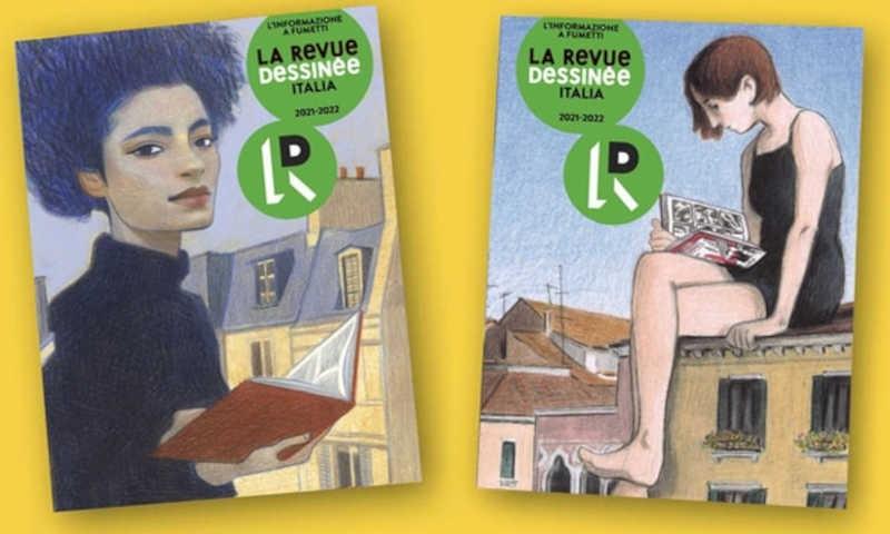 La Revue Dessinée Italia: una nuova visione del giornalismo a fumetti