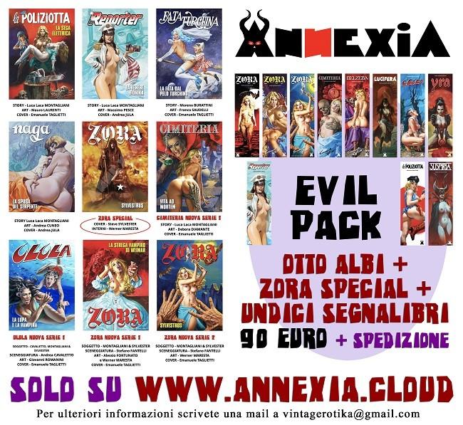 Ritorna la collana VINTAGEROTIKA con nove nuovi fumetti