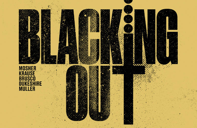 """Star Comics pubblica """"Blacking Out"""" di Chip Mosher e Peter Krause"""