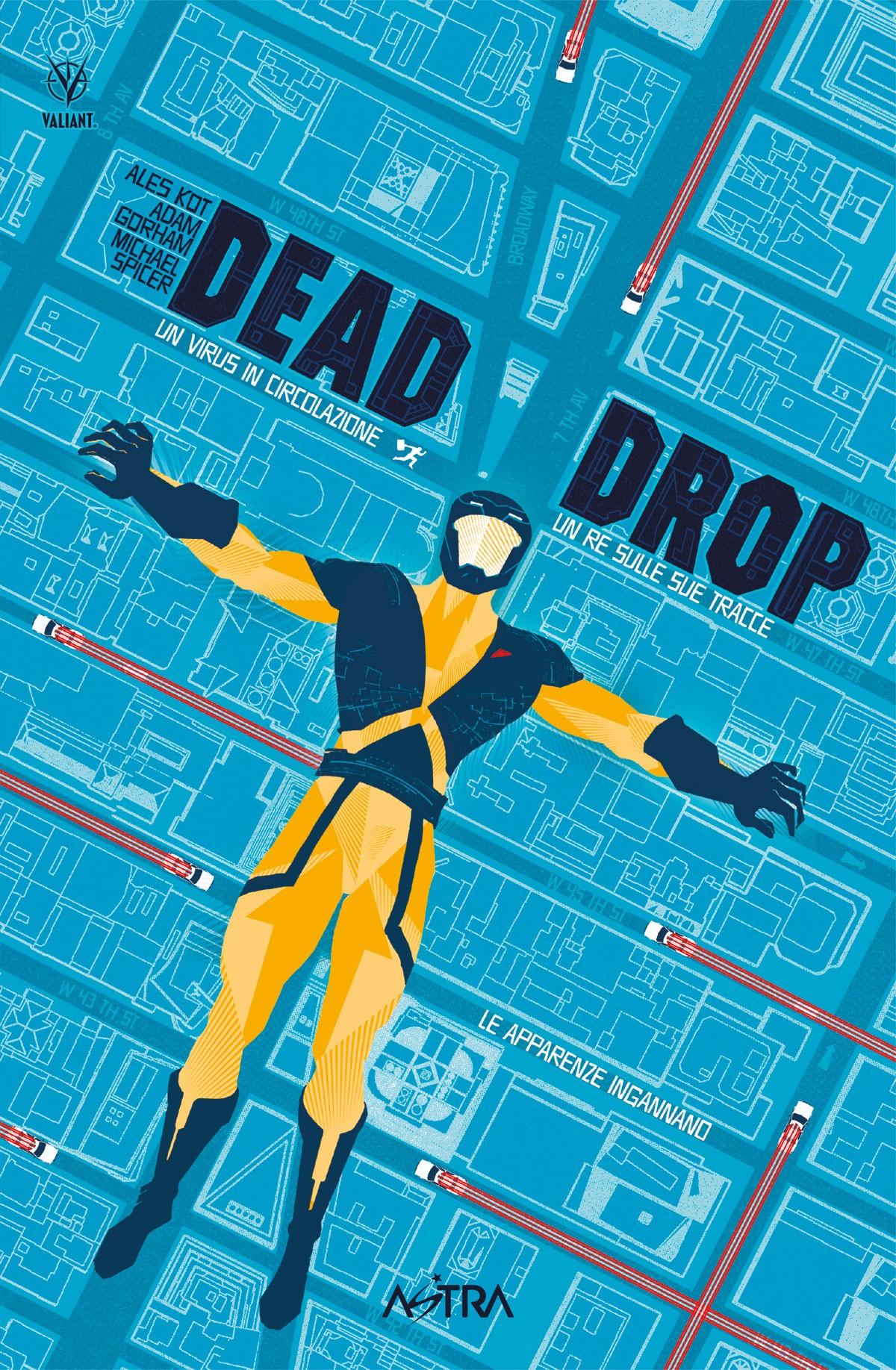 DEAD DROP (Star Comics, lug. 2021)