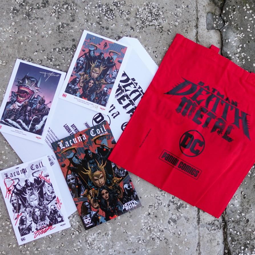 Death Metal: disponibili 200 kit da collezione con i Lacuna Coil