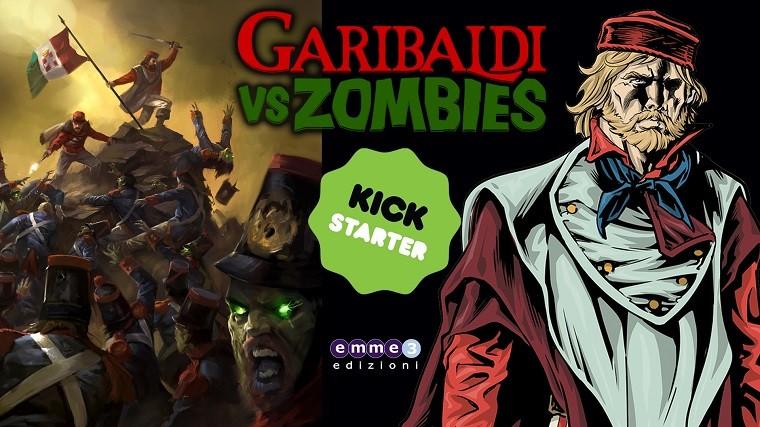 """E' in corso il crowdfunding """"Garibaldi vs Zombies"""", il fumetto di Guglielmino e De Fabritiis"""