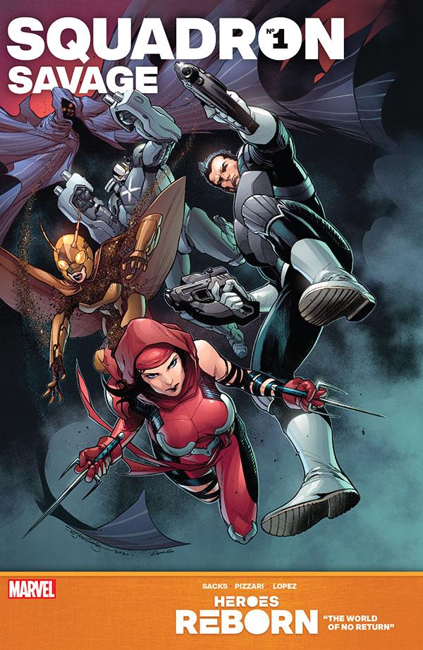 Heroes Reborn - Squadron Savage 1
