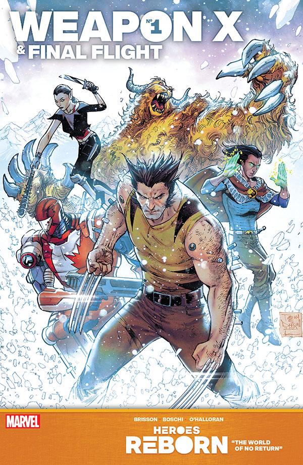 Heroes Reborn - Weapon X & Final Flight 1