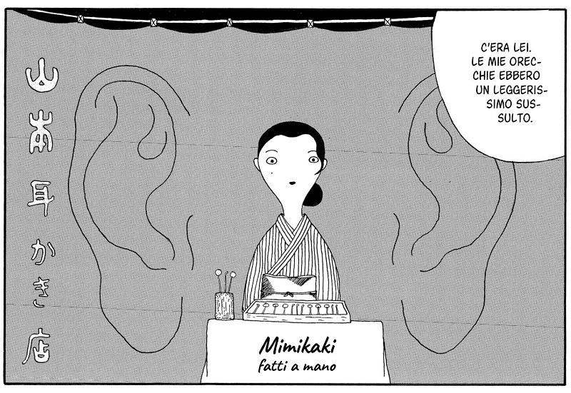 """Fumetti Bao: in uscita """"Mimikaki"""" di Yaro Abe."""
