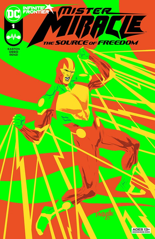 Mister Miracle - The Source of Freedom 1