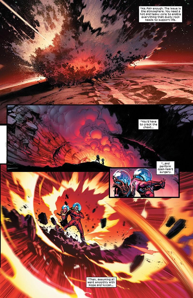 Planet-Size X-Men 001-003