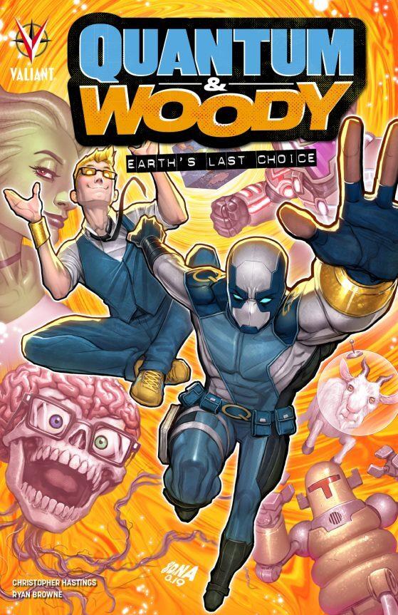 QUANTUM & WOODY - L'ULTIMA SPERANZA PER LA TERRA (Star Comics, lug. 2021)