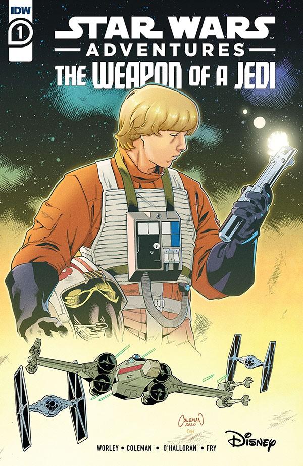 Star Wars Adventures - Weapon of a Jedi 1