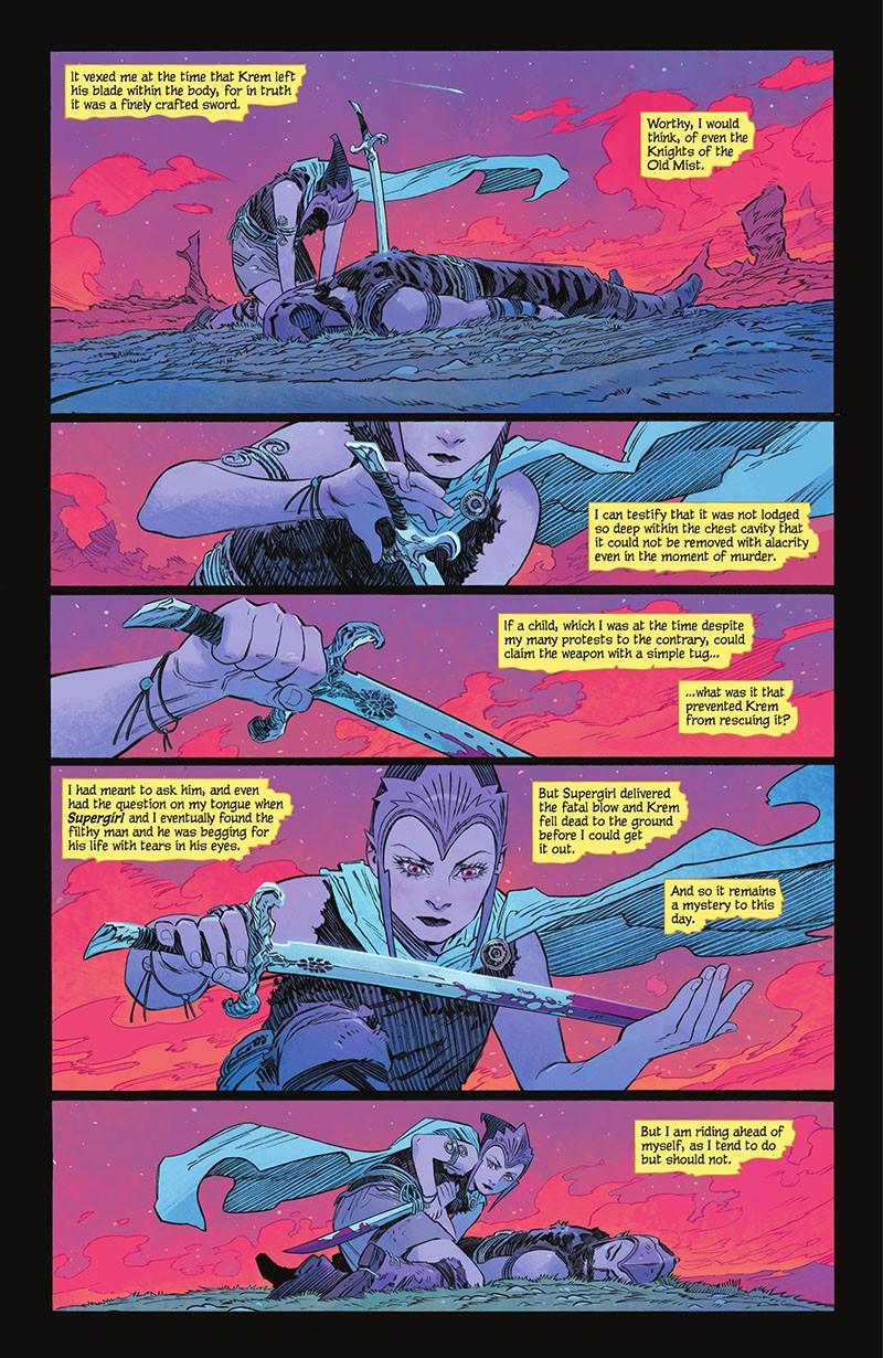 Supergirl - Woman of Tomorrow (2021-) 001-003