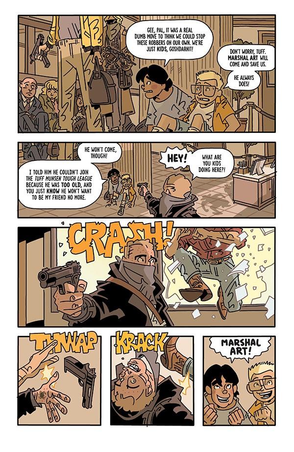 The Six Sidekicks of Trigger Keaton 001-002
