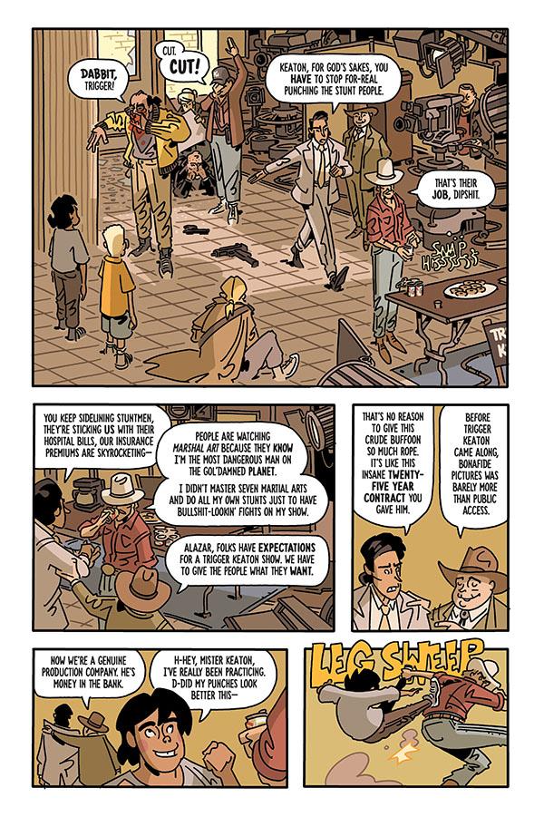 The Six Sidekicks of Trigger Keaton 001-004
