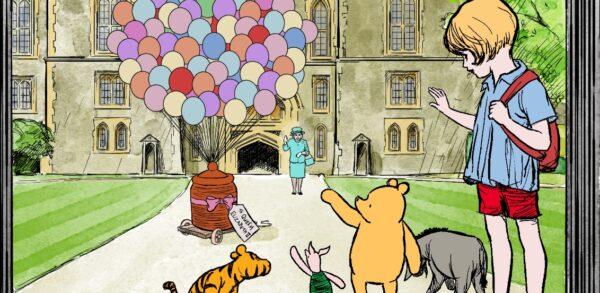 95° Winnie The Pooh – Omaggio alla Regina Elisabetta